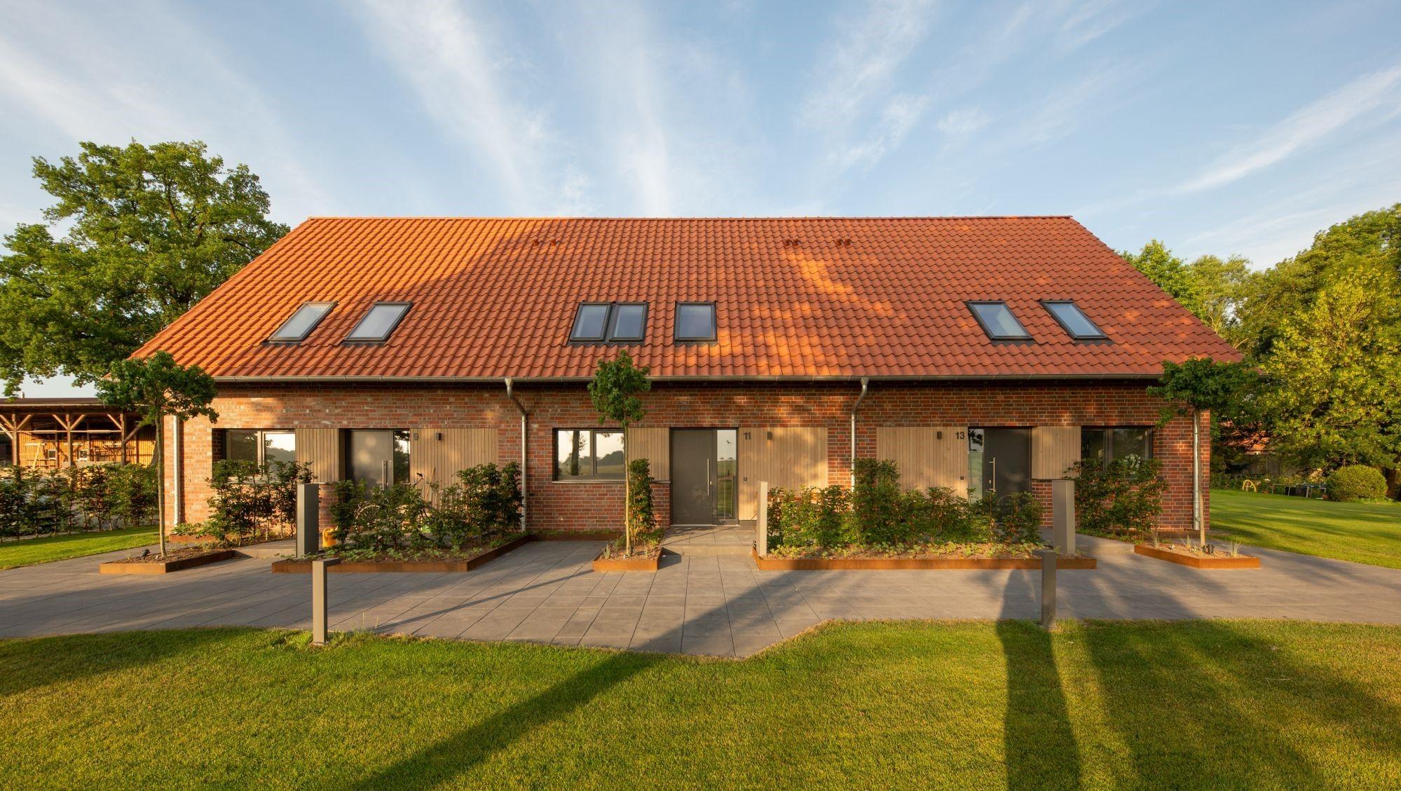 Neu- und Umbau zweier Wohngebäude Celle